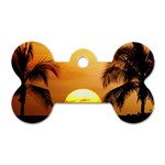 Sun-Set Dog Tag Bone (Two Sides)