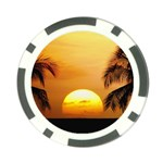Sun-Set Poker Chip Card Guard