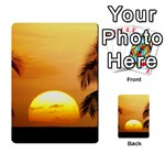Sun-Set Multi-purpose Cards (Rectangle)