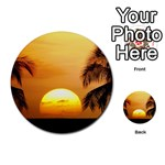 Sun-Set Multi-purpose Cards (Round)