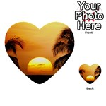 Sun-Set Multi-purpose Cards (Heart)
