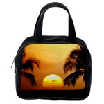 Sun-Set Classic Handbag (One Side)