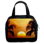 Sun-Set Classic Handbag (Two Sides)