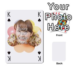 King Special 4 Numbers Version By Berry   Playing Cards 54 Designs   Erzsak34ei2l   Www Artscow Com Front - ClubK