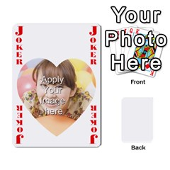 Special 4 Numbers Heart Version By Berry   Playing Cards 54 Designs   Semqqz4z1bym   Www Artscow Com Front - Joker1
