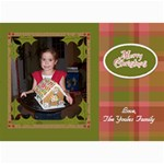 5x7 Christmas Cards - Use your own photos! - 5  x 7  Photo Cards