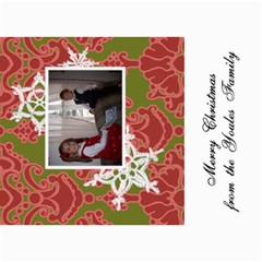 5x7 Christmas Cards   Use Your Own Photos! By Klh   5  X 7  Photo Cards   35crl129hq0c   Www Artscow Com 7 x5 Photo Card - 2