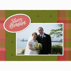 5x7 Christmas Cards   Use Your Own Photos! By Klh   5  X 7  Photo Cards   35crl129hq0c   Www Artscow Com 7 x5 Photo Card - 4