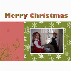5x7 Christmas Cards   Use Your Own Photos! By Klh   5  X 7  Photo Cards   35crl129hq0c   Www Artscow Com 7 x5 Photo Card - 10