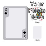 sliver border - Playing Cards 54 Designs