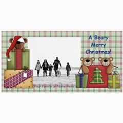 Christmas & Holiday Photo Cards Assortment By Angela   4  X 8  Photo Cards   X7e62cy2om0s   Www Artscow Com 8 x4 Photo Card - 3