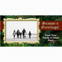 Christmas & Holiday Photo Cards Assortment By Angela   4  X 8  Photo Cards   X7e62cy2om0s   Www Artscow Com 8 x4 Photo Card - 5