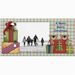 Christmas & Holiday Photo Cards Assortment By Angela   4  X 8  Photo Cards   X7e62cy2om0s   Www Artscow Com 8 x4 Photo Card - 8
