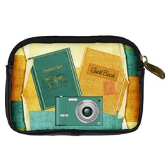Travel Bug Camera Case By Sooze   Digital Camera Leather Case   R85pl7jljmsm   Www Artscow Com Back