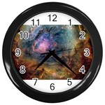 m8_sherick_big Wall Clock (Black)