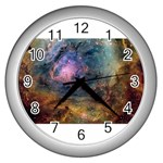 m8_sherick_big Wall Clock (Silver)