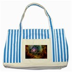 m8_sherick_big Striped Blue Tote Bag