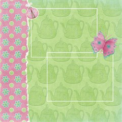 Tea Party Scrapbook Pages 12  X 12     Set Of 12 By Sooze   Scrapbook Page 12  X 12    Zhg0qxux16zw   Www Artscow Com 12 x12 Scrapbook Page - 9