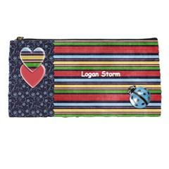 Logan Pencil Case By Sarah   Pencil Case   Vr3btfbe5at8   Www Artscow Com Front