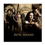 New Moon Tile Coaster