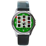 JACKPOT_IMJUSTLUCKY600X600 Round Metal Watch