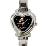 New Moon Heart Italian Charm Watch
