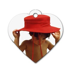 Charms Hat By Chris   Dog Tag Heart (two Sides)   Djvaq5qnebsw   Www Artscow Com Back