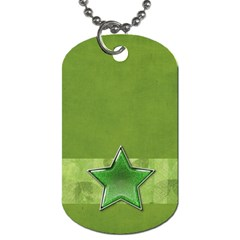 Dog Tag By Mikki   Dog Tag (two Sides)   Traxxzdx4puu   Www Artscow Com Back