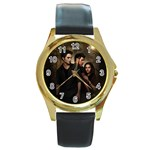 61 Round Gold Metal Watch