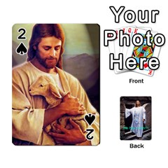 Jesus and a Lamb Playing Cards 54 Designs