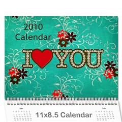 Calendar By Kelly   Wall Calendar 11  X 8 5  (12 Months)   S9ka6c7xkrhh   Www Artscow Com Cover