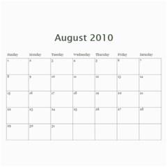 Calendar By Kelly   Wall Calendar 11  X 8 5  (12 Months)   S9ka6c7xkrhh   Www Artscow Com Aug 2010
