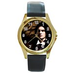 39 Round Gold Metal Watch