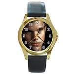 29 Round Gold Metal Watch