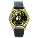 26 Round Gold Metal Watch