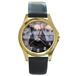 23 Round Gold Metal Watch