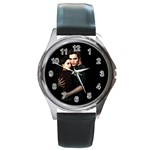 60 Round Metal Watch