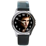 10 Round Metal Watch