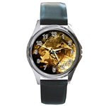 8 Round Metal Watch
