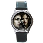 4 Round Metal Watch