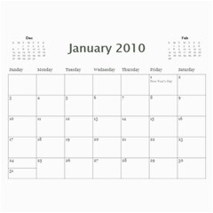 January By Martina Savcheva   Wall Calendar 11  X 8 5  (12 Months)   37lnomvxqo0e   Www Artscow Com Jan 2010