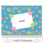 caitlin call - Wall Calendar 11  x 8.5  (12-Months)