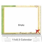 Calendario mama - Wall Calendar 11  x 8.5  (12-Months)