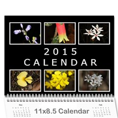 2015 Basic Black & White Calendar By Mim Cover
