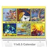 ShariMac Calendar - Wall Calendar 11  x 8.5  (12-Months)