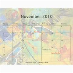 Sharimac Calendar By Alana   Wall Calendar 11  X 8 5  (12 Months)   9w4kgvhdibnx   Www Artscow Com Nov 2010
