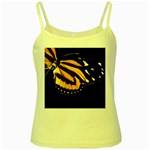 butterfly-pop-art-print-11 Yellow Spaghetti Tank