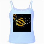 butterfly-pop-art-print-11 Baby Blue Spaghetti Tank