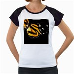 butterfly-pop-art-print-11 Women s Cap Sleeve T