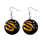 butterfly-pop-art-print-11 1  Button Earrings